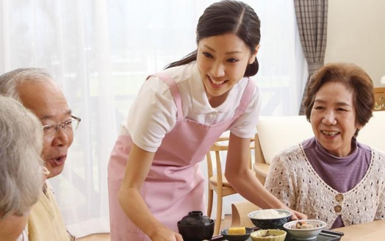 特別養護老人ホーム 藤代なごみの郷内厨房