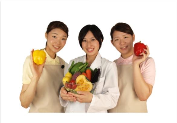 日清医療食品株式会社(岡本病院の厨房内栄養士)